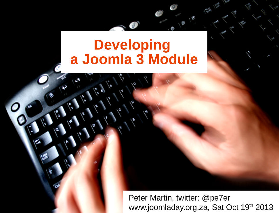 Developing a Joomla 3.x Component using RAD
